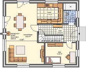 Paket L Grundriss: Erdgeschoss